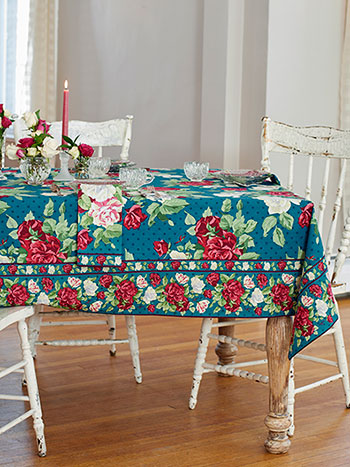 Rose Manor Tablecloth