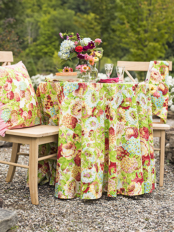 Spring Gathering Round Cloth