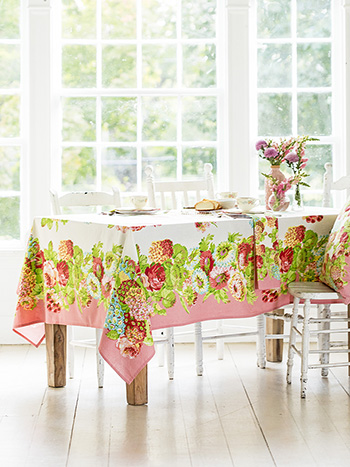 Spring Gathering Tablecloth