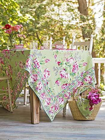 Tulip Dance Tablecloth