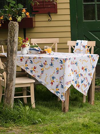 Vermont Barnyard Tablecloth