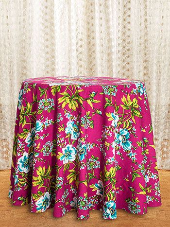 Waterlily Round Tablecloth