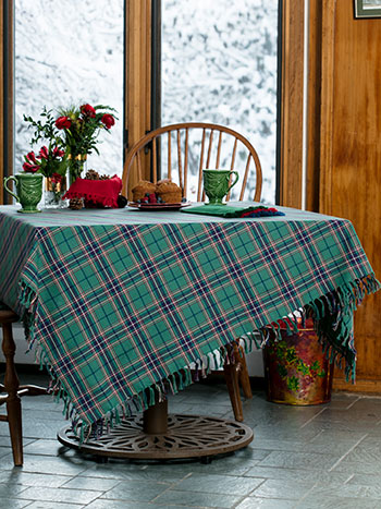 Balsam Plaid Tablecloth