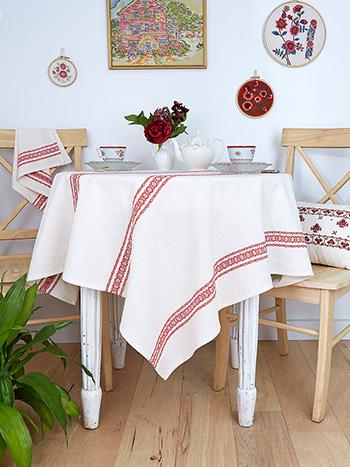 Heritage Stripe Tablecloth