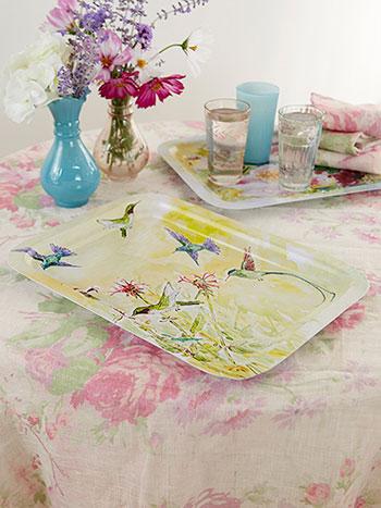 Hummingbird Teatime Tray