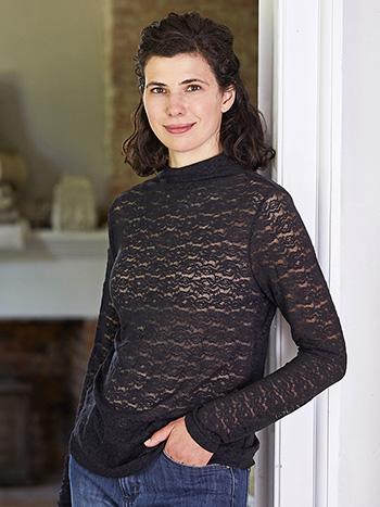 Amelie Mock Turtleneck T-Shirt