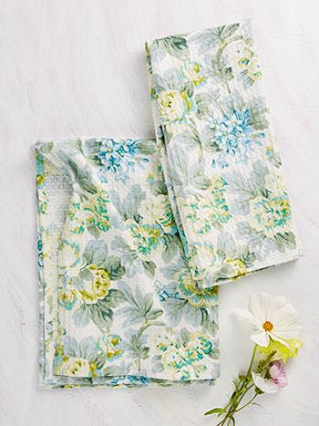 Cotillion Tea Towel Set of 2
