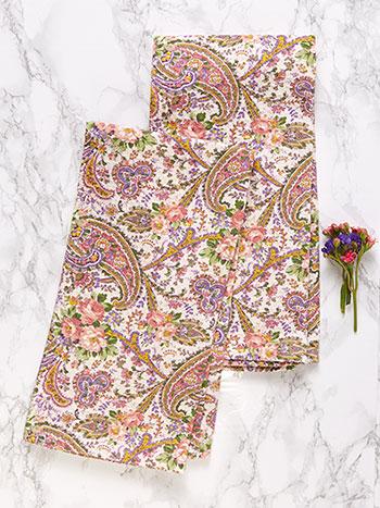Garden Paisley Tea Towel S/2