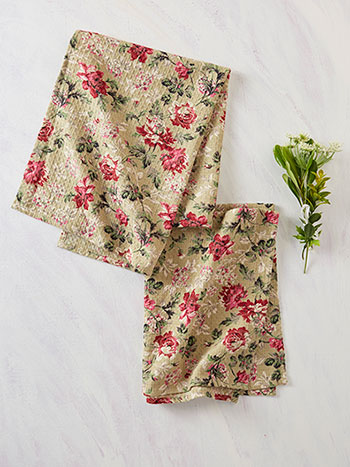 Greta's Garden Tea Towel Set of 2