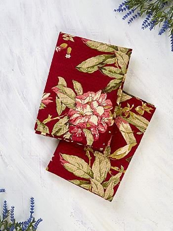 Hydrangea Dream Tea Towel Set of 2