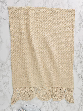 Luxurious Honeycomb Tea Towel