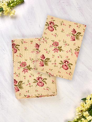 Petra Rose Tea Towel Set of 2
