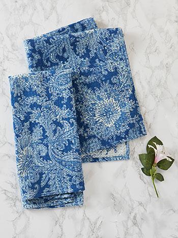 Rhapsody Paisley Tea Towel Set of 2