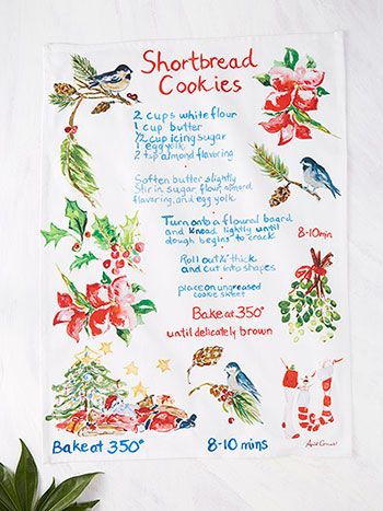Shortbread Cookies Tea Towel