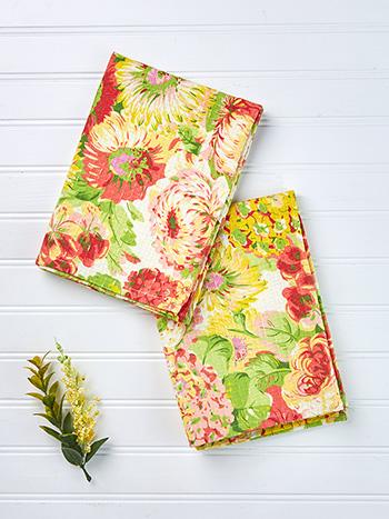 Spring Gathering Tea Towel Set of 2