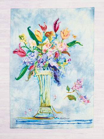 Spring Romance Tea Towel