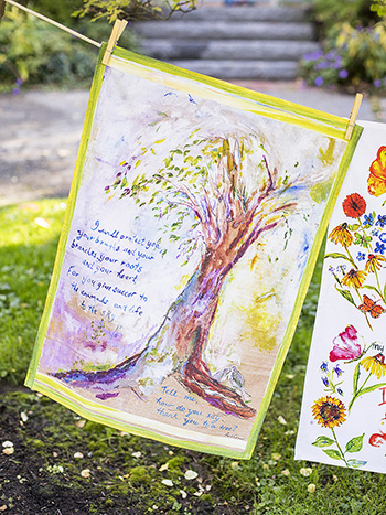 April's Watercolor Linens