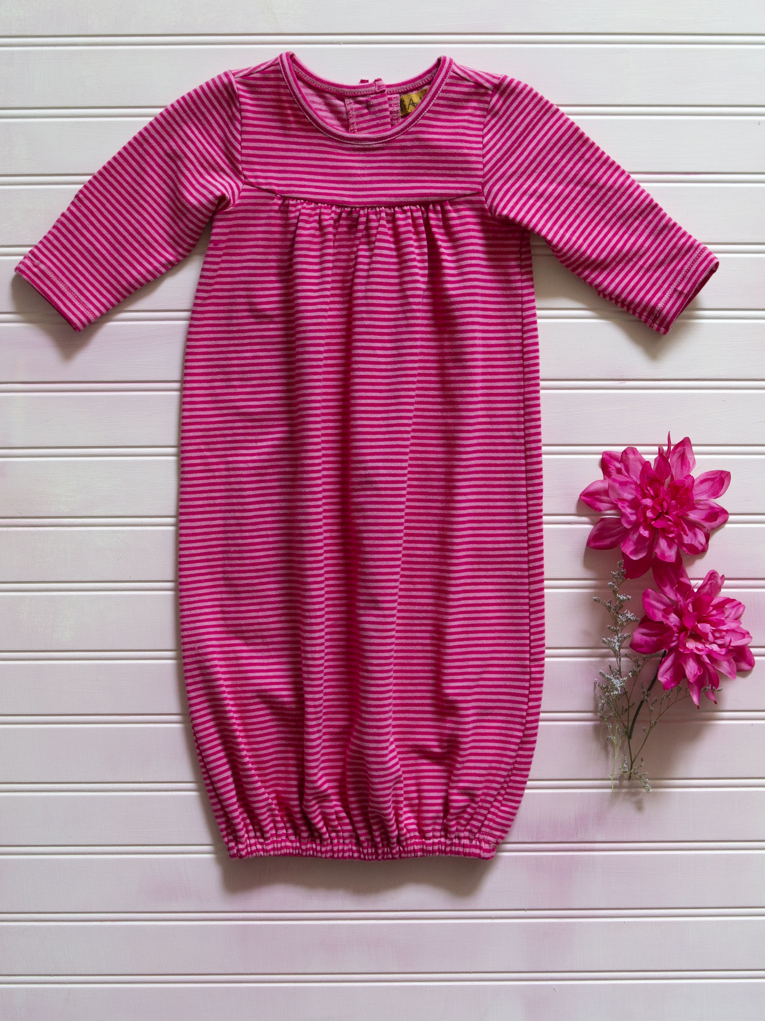 Candy Stripe Baby Dress