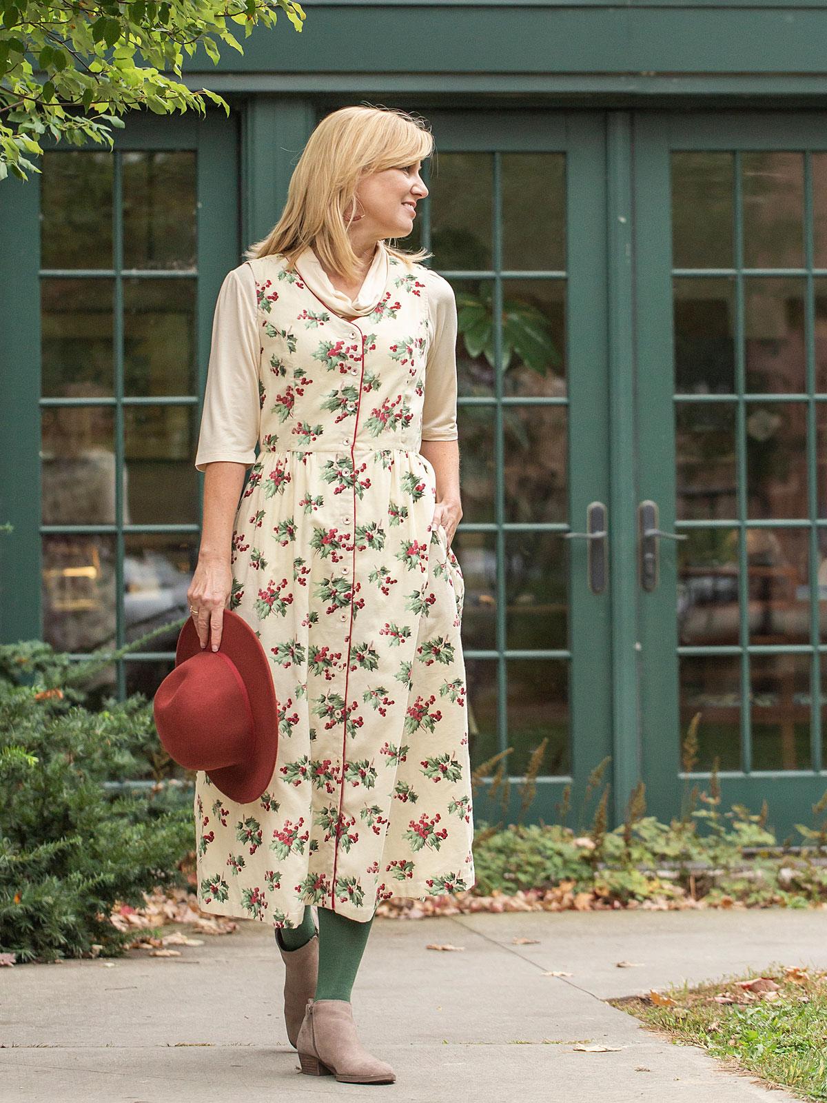 208e37ac86960 Holly Pinafore Dress