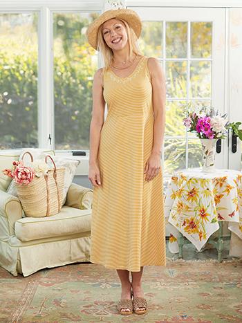 Sandstorm Stripe Jersey Dress