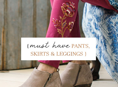 Skirts, Pants & Leggings