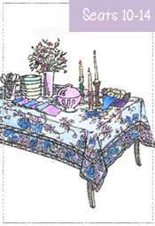 Banquet Tablecloth 72x120