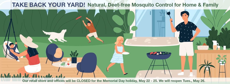 <Mosquito Control Memorial Day