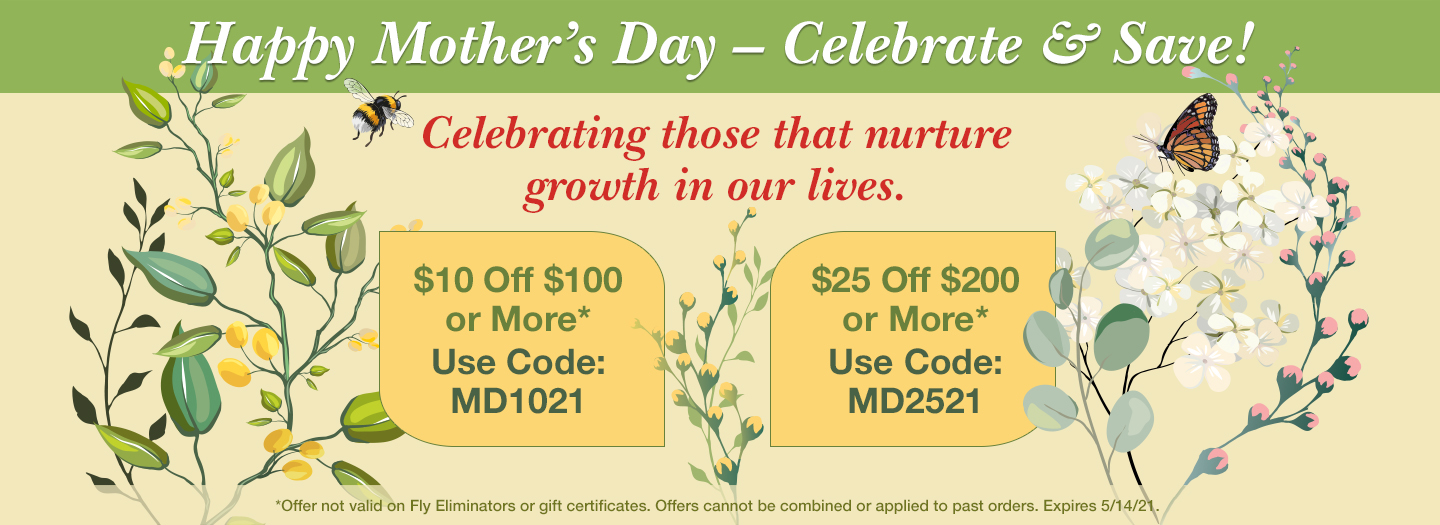 Mother's Day Savings
