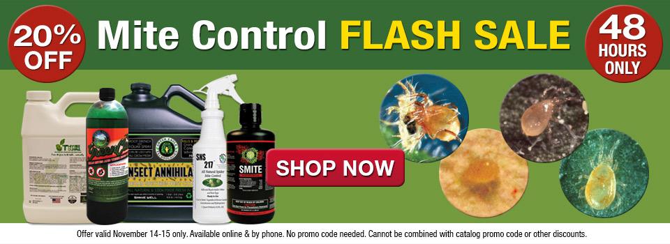 Mite Control Flash Sale - Save 20%