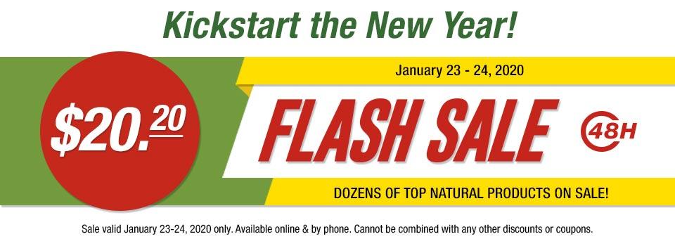 Flash Sale - Celebrate 2020 With Savings