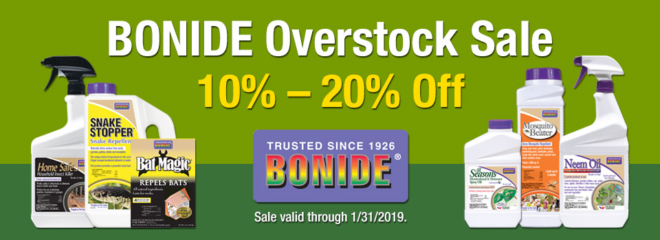 Up To 20% Off Bonide Pest Control Through Jan 31