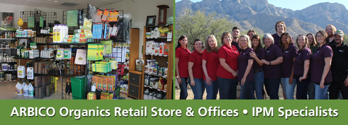 ARBICO's Retail Store Location in Oro Valley