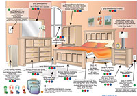 areas to apply bed bug killer