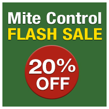 20% Off Mite Control - FLASH SALE