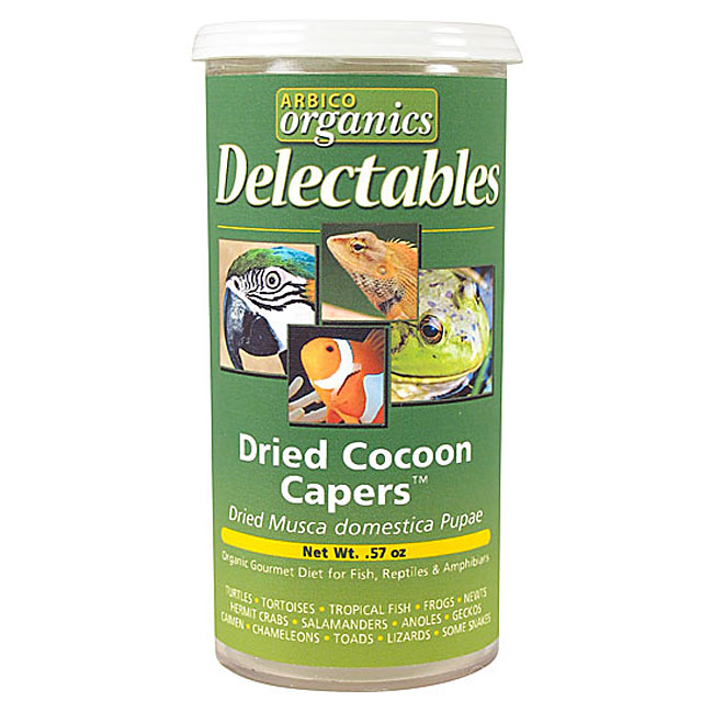 Cocoon Capers - Fly Pupae - 0.57 oz