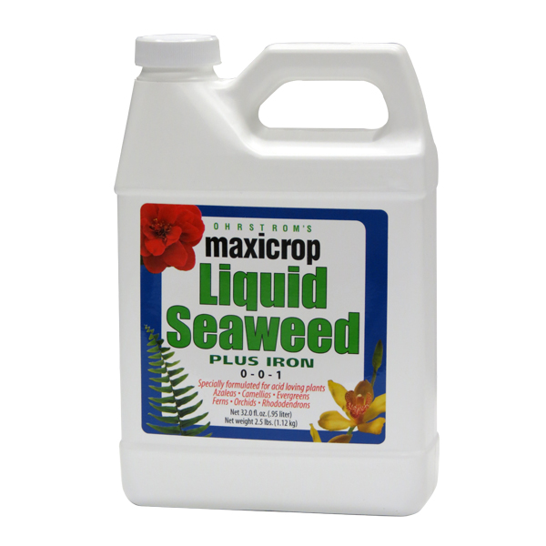 Maxicrop® Liquid Seaweed Plus Iron, 0-0-1 + 2% Iron