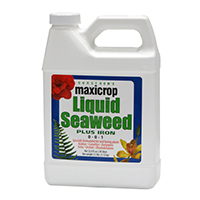 Maxicrop Liquid Seaweed Plus Iron 0-0-1 + 2%