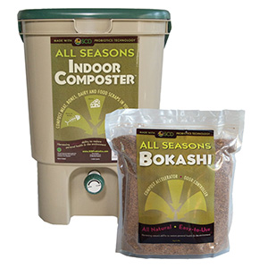 SCD All Seasons Bokashi Indoor Composting Kit - 2.2 lb bag Bokashi
