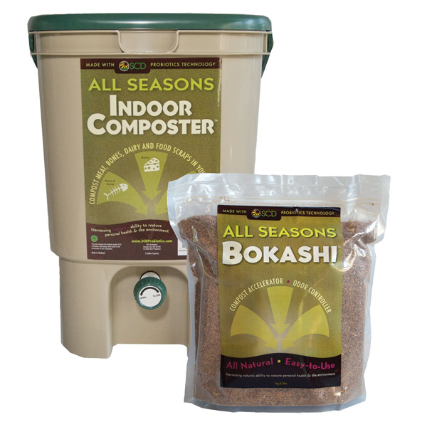 SCD All Seasons Bokashi Indoor Composting Kit