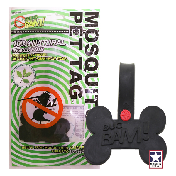 Bug Bam Mosquito Pet Tags