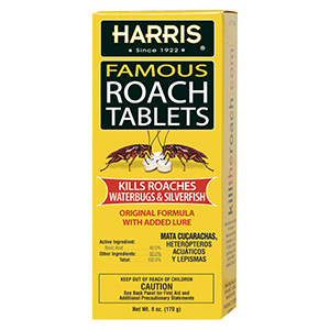 Harris Famous Roach Tablets - 6 oz