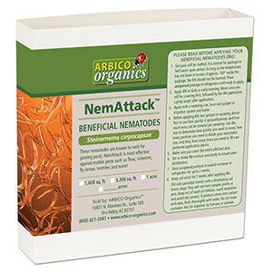 NemAttack™ - Sc Beneficial Nematodes - 5 Million