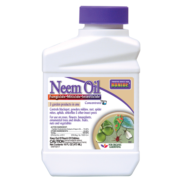 Bonide Neem Oil Concentrate 1 Pint Fungicide Miticide