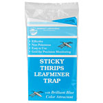 "Thrips Leafminer Blue Sticky Traps Seabright 4""x 7"" 5 pack"
