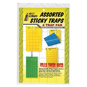 Pest Wizard Assorted Sticky Traps