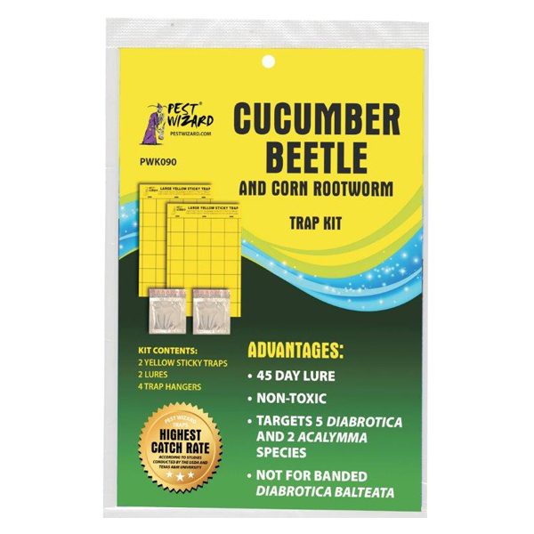 Cucumber Beetle & Corn Rootworm Traps and Lures