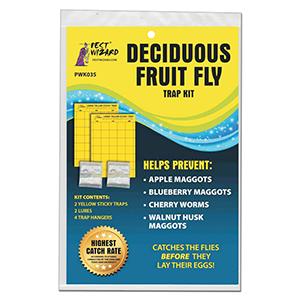 Deciduous Fruit Fly Trap Kit