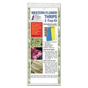 Pest Wizard Western Flower Thrips Trap Kit