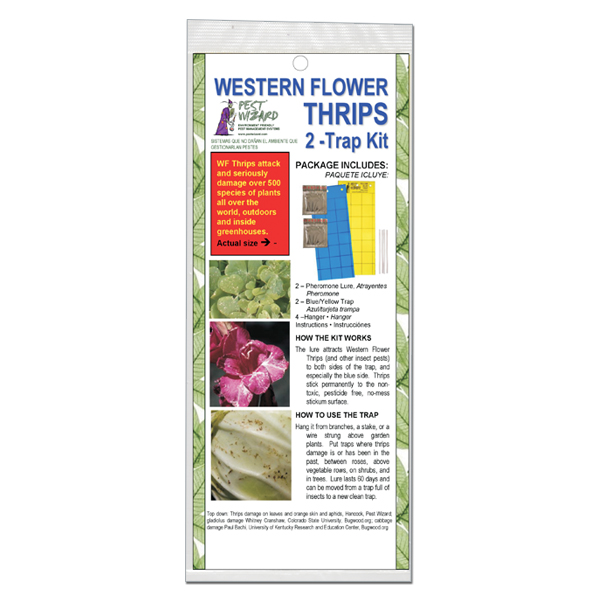 Pest Wizard Western Flower Thrips Trap Kit