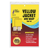 Yellow Jacket & Wasp Trap Kit - 2 Traps/Lures